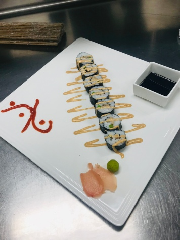 Finished Sushi Dish